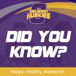 Oelwein Huskies Did You Know? logo