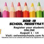 online registration information image