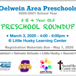 Preschool Round-Up Flyer