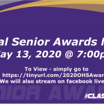 Virtual Senior Awards Night