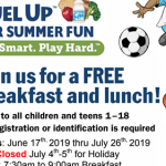 Fuel up for summer fun informational flyer