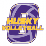 Husky Volleyball logo