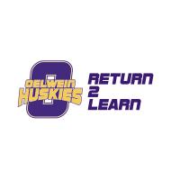 Oelwein Huskies - Return to Learn logo