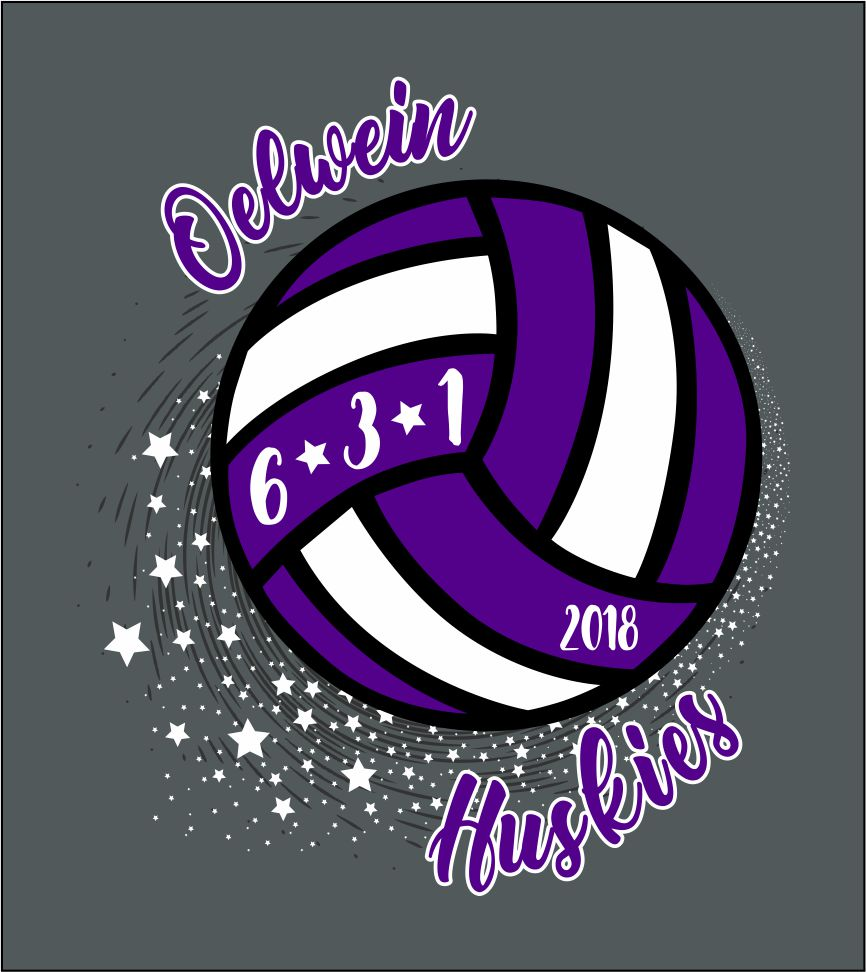 volleyball tshirt image